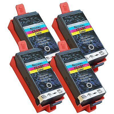 4pk Color Ink Cartridge for Canon CLI-36 CLI36 PIXMA iP100 iP110 Mini260 -