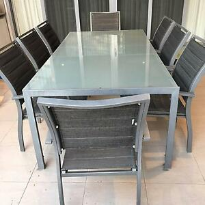 Outdoor Table Setting and 8 Chairs Burleigh Heads Gold Coast South Preview