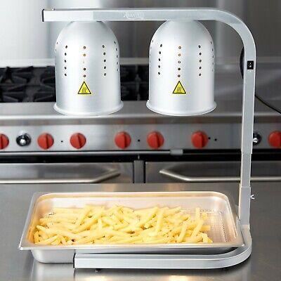 Adjustable Commercial Heavy-duty Aluminum Heat Lamp Food Fry Full Pan Warmer