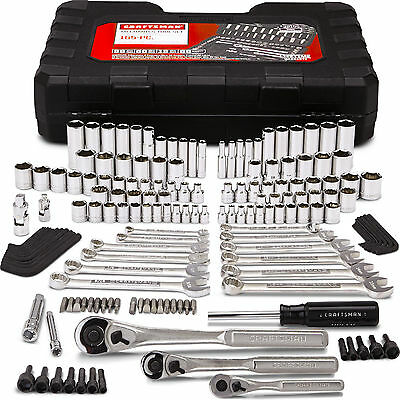 Craftsman 165 Lump 165 pc Mechanics Tool Set Kit Metric Ratchet Wrench Socket