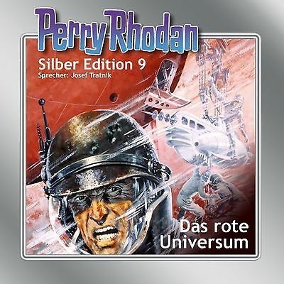 12 CD Perry Rhodan Silber Edition 09 Das rote Universum