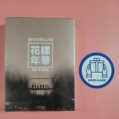 BTS 2015 hyyh live on stage dvd No photocard very rare oop concert 3 discs DHL
