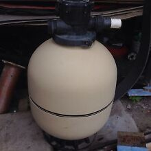 POOL PUMP + SAND FILTER GOOD CONDITION Elanora Heights Pittwater Area Preview