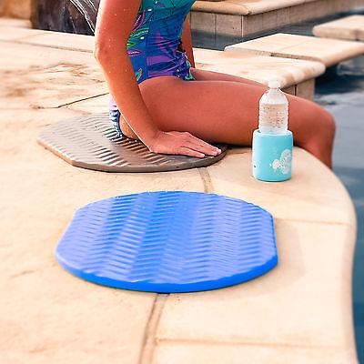 Texas Recreation Swimming Pool & Spa Oval Blue Poolside Cushion