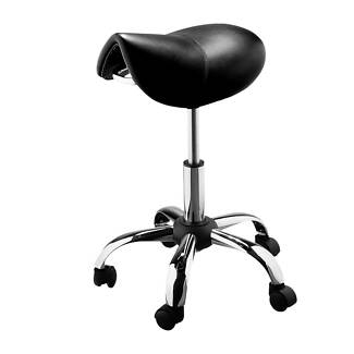 Black Saddle Stool - Fully hydraulic and adjustable Brisbane City Brisbane North West Preview