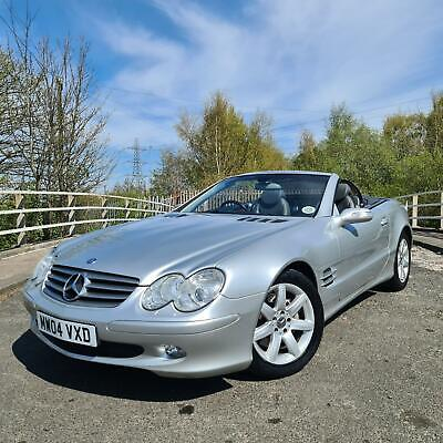 2004 04 Mercedes-Benz SL500 5.0 V8 7G auto 302 BHP Only 63k miles Immaculate