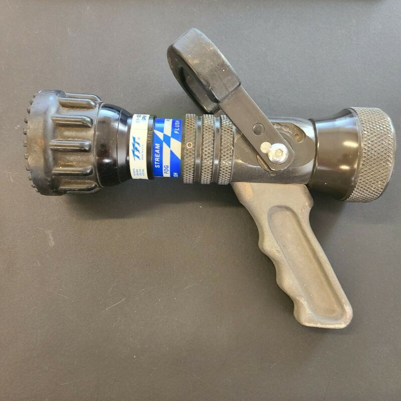 Task Force Tip TFT Ultimatic Automatic 10-125 GPM Handline Nozzle Firefighting