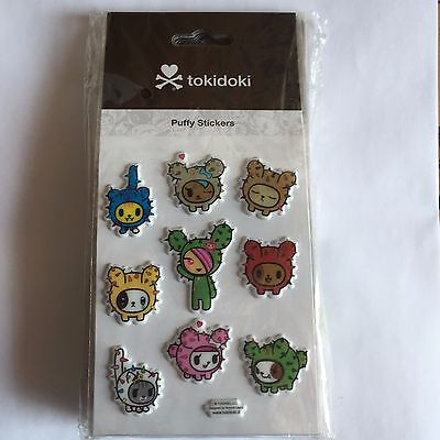 tokidoki Puffy Sticker - cactus pups