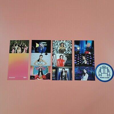 Twice shinhan card photo card very rare 10pc 1set all member full FREE DHL FEDEX