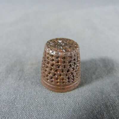Medieval Bronze Thimble 15th century