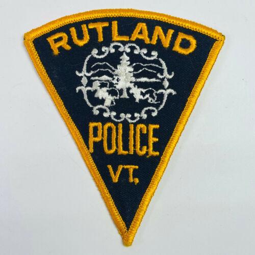 Rutland Police Vermont Patch
