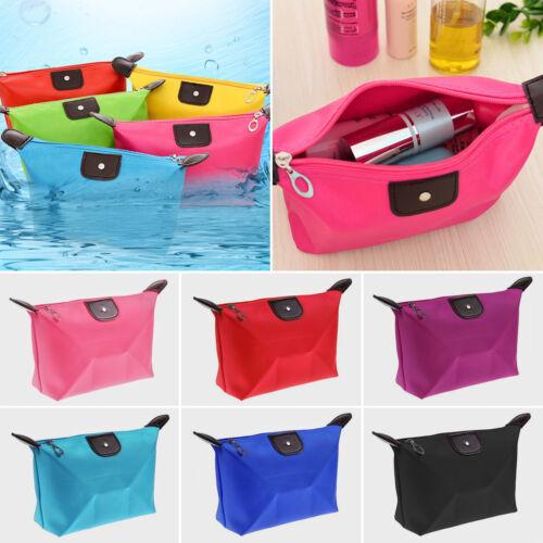 Waterproof Cosmetic Small Makeup Bag Travel Toiletry Organiz