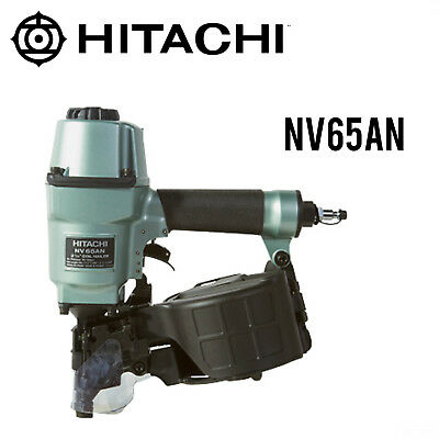 Hitachi Nv65an 2-12 Coil Pallet Nailer New Wfull Warranty