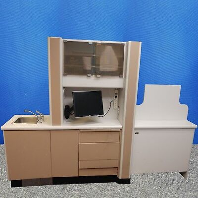 Healthco Center Island Treatment Console Dental Cabinets