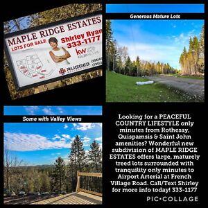 Lots - Beautiful New Subdivision of Maple Ridge Estates