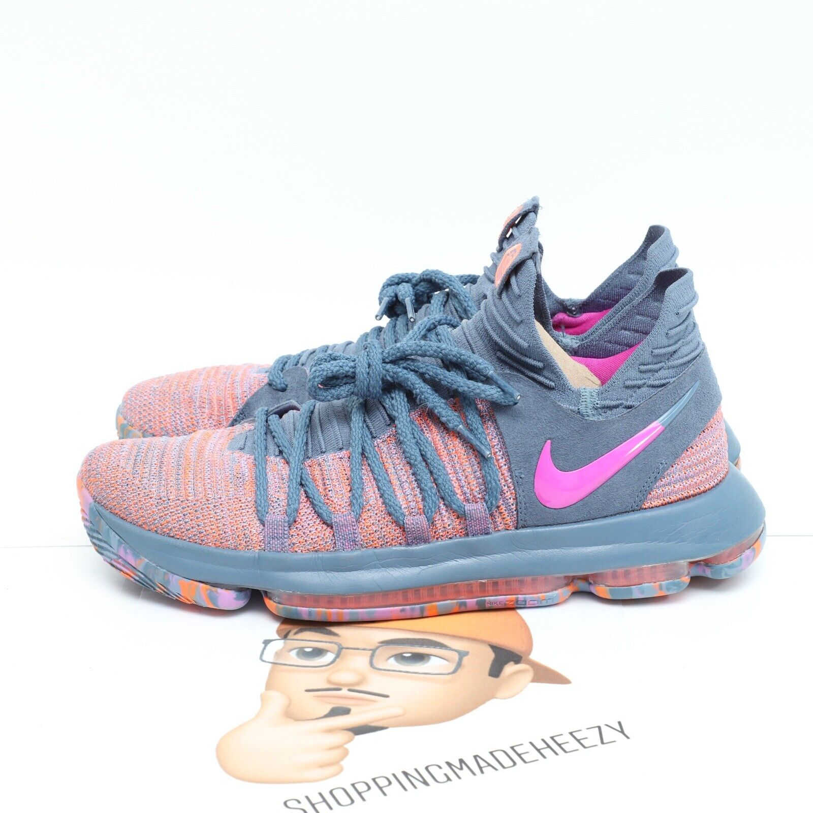 Nike Zoom Kd10 Limited Edition Shoes Sz