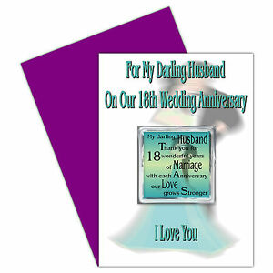 ... -1st-24th-Years-Our-Wedding-Anniversary-Card-Removable-Magnet-Gift