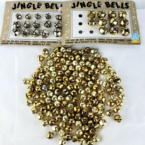 Jingle Bells-150 Loose Bells and Carded Bells-Crafts-Christmas-Gifts