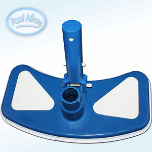 pool above deluxe vacuum head cleaner for swimming pools with vinyl liner ebay