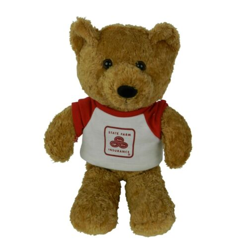 "State Farm Insurance Good Neigh Bear Advertising 12"" Brown Teddy Bear Plush"