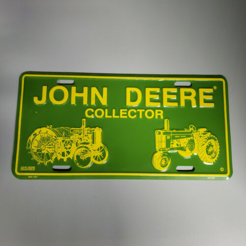 John Deere Collector License Plate Brand New No packaging