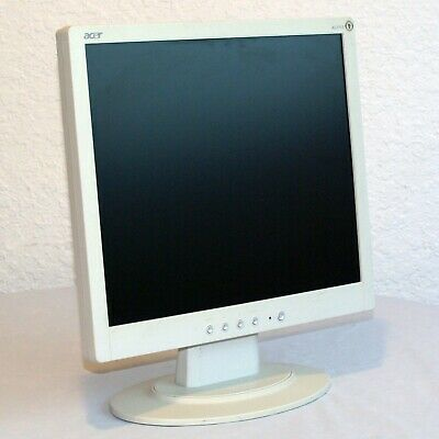 Acer AL1715LCD Monitor Tested & Warranty