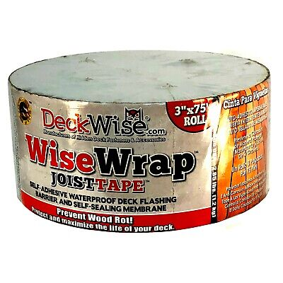 Wisewrap Deck Joist Flashing Tape - 3 X 75 812637020852