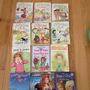 Lot of 13 girl's books