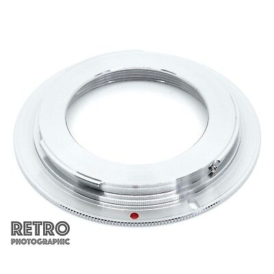 M42-EF M42 Screw Fit Lens to Canon EF EOS Mount Brass Adapter Ring - With Flange for sale  Shipping to Ireland