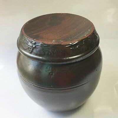 Onggi Yogurt Earthenware 2kg Pottery Porcelain Jar Pot for Food fermentation