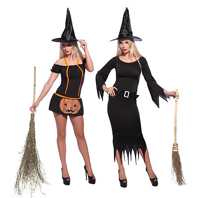 Sexy Women HALLOWEEN Wicked Witch Costume Role Play Party Fancy Dress Outfit