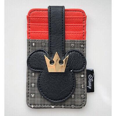 Loungefly Kingdom Hearts Mickey Card Holder ID Wallet NEW  Heart Card Holder