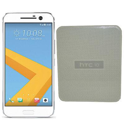 "BNIB HTC 10 32GB Glacier Silver 5.2"" Inch Factory Unlocked 4G/LTE GSM Simfree"