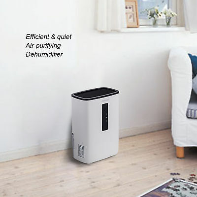 Portable Dehumidifier for Rooms, Basement, Bathroom, Ultra-Quiet,2200 Cubic Feet