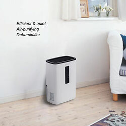 Portable Dehumidifier for Rooms, Basement, Bathroom, Ultra-Quiet,2200 Cubic Feet