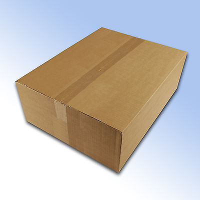 10 New Royal Mail Maximum Small Parcel Size Postal Boxes 450x350x160mm