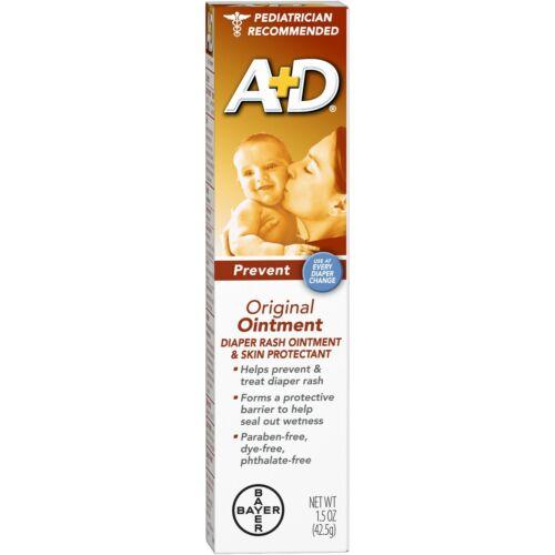 A+D ORIGINAL OINTMENT 4oz Diaper Rash Skin Protectant NIB 04/2024