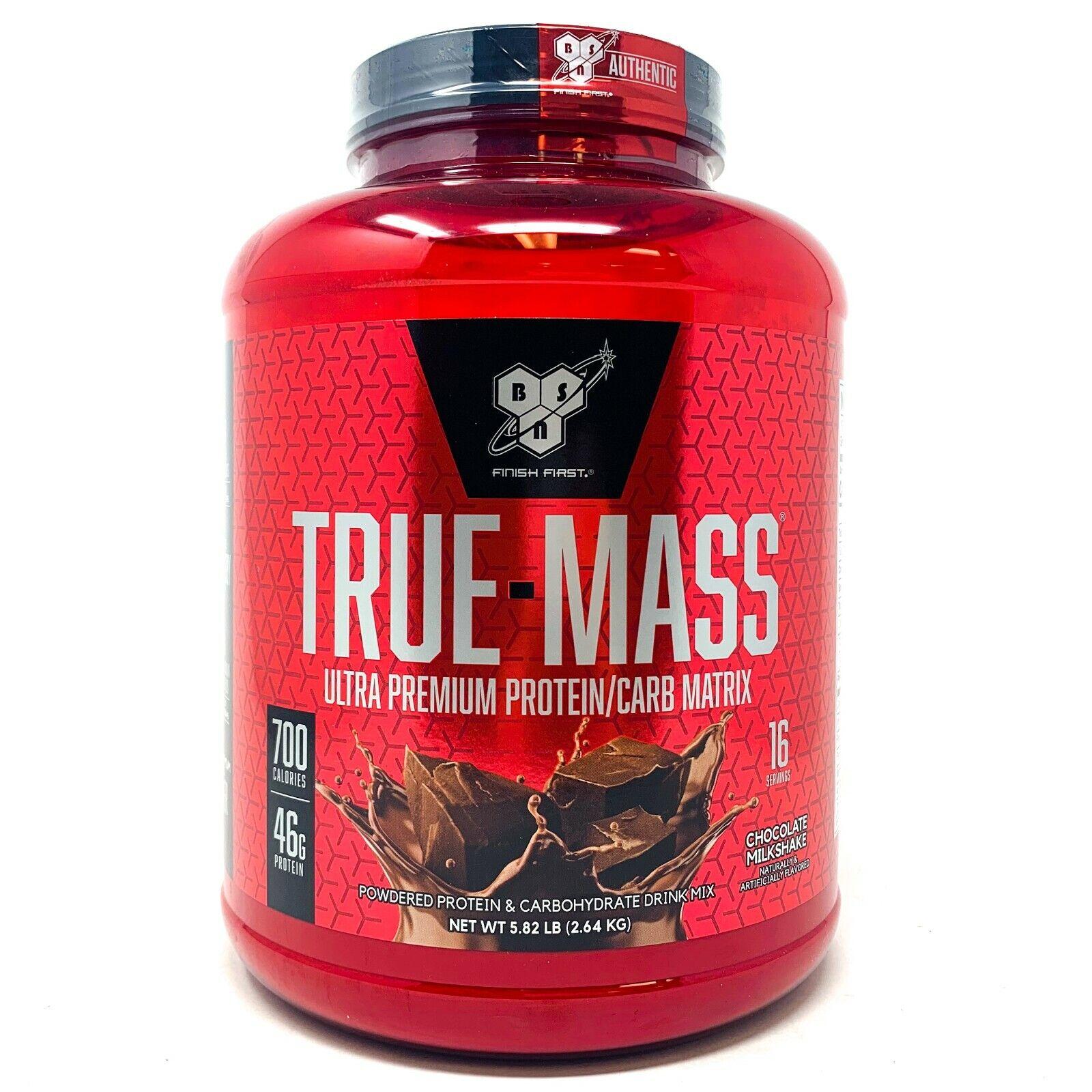 BSN True Mass 5lb Lean Mass Gainer Post-Workout Protein Powd