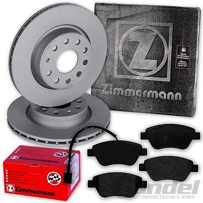 ZIMMERMANN Bremsbeläge Bremsbelagsatz Bremsklötze Fiat 500L ab 09.2012 hinten