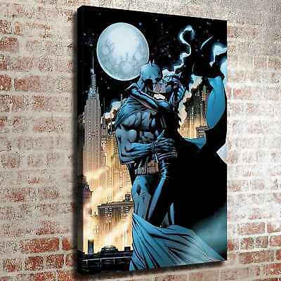 Catwoman kiss batman HD Canvas prints Painting Home decor Room Wall art Picture ()