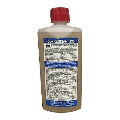 Neopredisan 135-1 - 500ml - Desinfektionsmittel Reinigung Keime Parasiten Viren