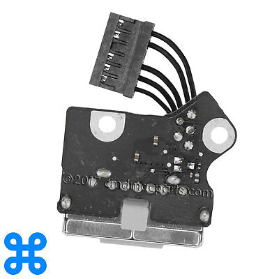 """MAGSAFE 2 DC-IN POWER BOARD MacBook Pro Retina 15"""" A1398 Mid 2012,2013,2014,2015"""