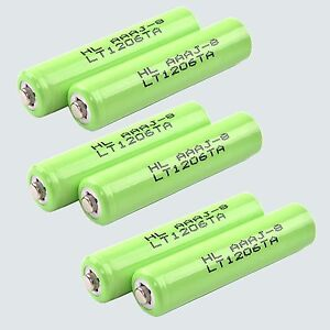 6x Ni-MH Battery for Panasonic DECT 6.0 KX-TG9333 KX-TG9343 HHR-4DPA HHR-65AAABU
