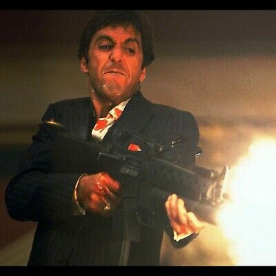 "Al Pacino Scarface Tony Montana poster wall art decor photo print 16, 20, 24"" sz"