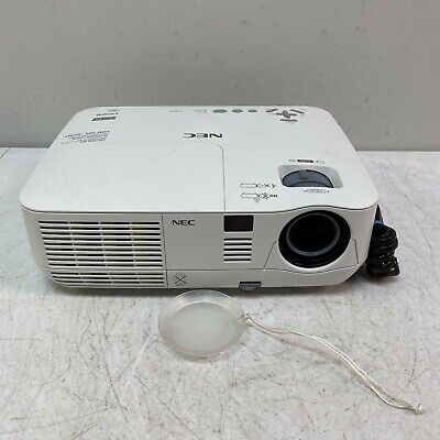 NEC NP-V300X DLP Projector V300X 3000 ANSI HD 1080i 3D HDMI w/ 2400 Lamp Hours