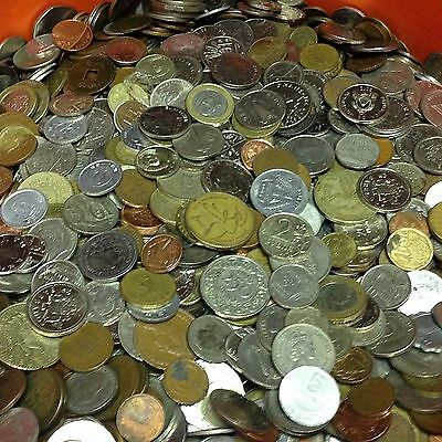 10 Lbs Of Mixed Foreign Coins  Bulk World Coins By The Pound  Many Countries