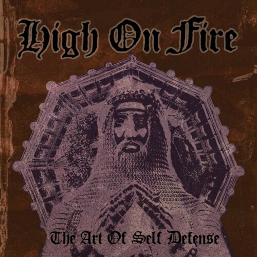 HIGH ON FIRE The Art of Self Defense BANNER HUGE 4X4 Ft Fabric Poster Flag art