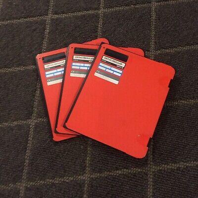 X-ray Film Cassettes Ortho Regular Agfa 10x12 Green Sensitive Screens Lot3