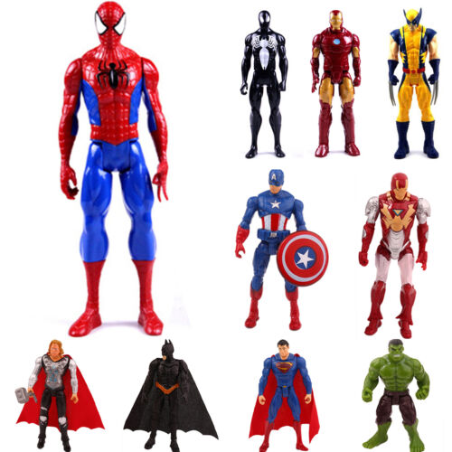 Marvel The Avengers Superheld Spiderman Action Figur Figuren Kinder Spielzeug G