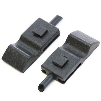 2 Fits Chevy/GMC Silverado/Sierra 07-13 Door Lock Knobs Front/Rear Ebony Black